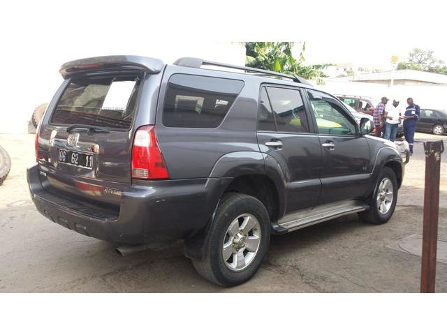 8,600,000FCFA-TOYOTA 4RUNNER-4X4WD-VERSION 2007-OCCASION BELGIQUE - 834