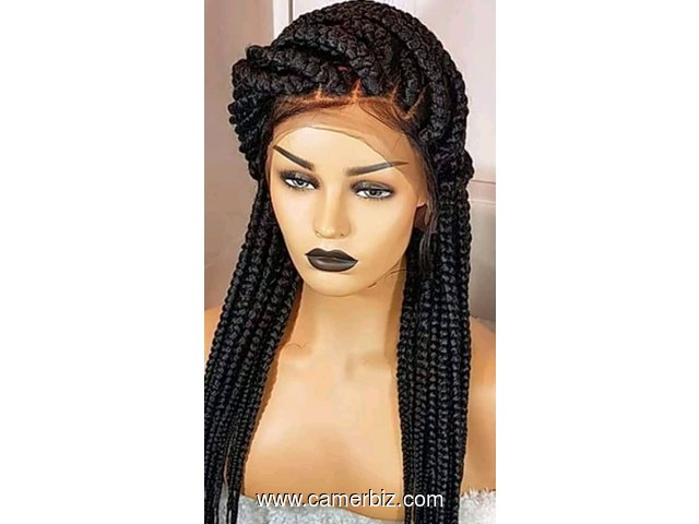 Durable and classy braided wigs at Beauty and Braids - 8372