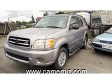 4,900,000FCFA-TOYOTA SEQUOIA LIMITED-4X4WD VERSION 2004-OCCASION DU CAMEROUN