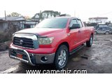 9,850,000FCFA- PICKUP-TOYOTA TUNDRA 4X4WD  VERSION 2008-OCCASION EN OR-FULL OPTION