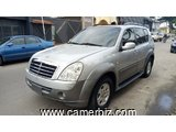4,900,000FCFA-SSANGYONG REXTON 4X4WD-VERSION 2007-OCCASION DU COREE DU SUD-8PLACES-FULL OPTION