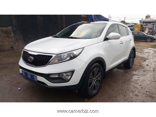 9,600,000FCFA-KIA SPORTAGE TLX 4X4WD-VERSION 2012-OCCASION BELGIQUE  EN OR! - 8941