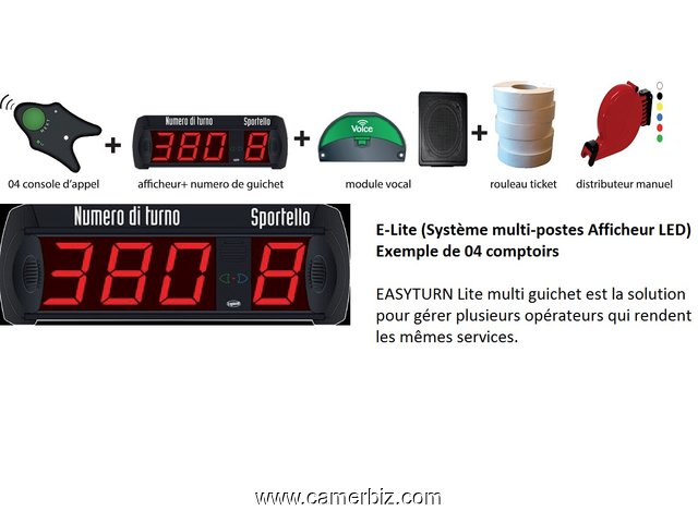 Gestion des files d'attente - 8966