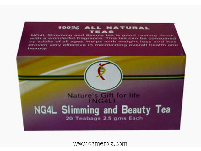SLIMMING AND BEAUTY TEA - 9016