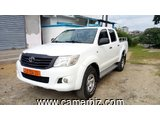 12,800,000FCFA-TOYOTA PICKUP HILUX -DOUBLE CABINE VERSION 2012-OCCASION EN OR - 9049