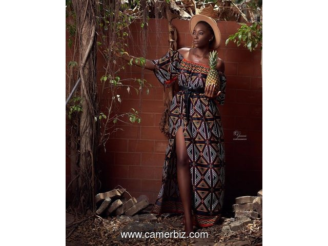 Cameroon traditional wear - 9267