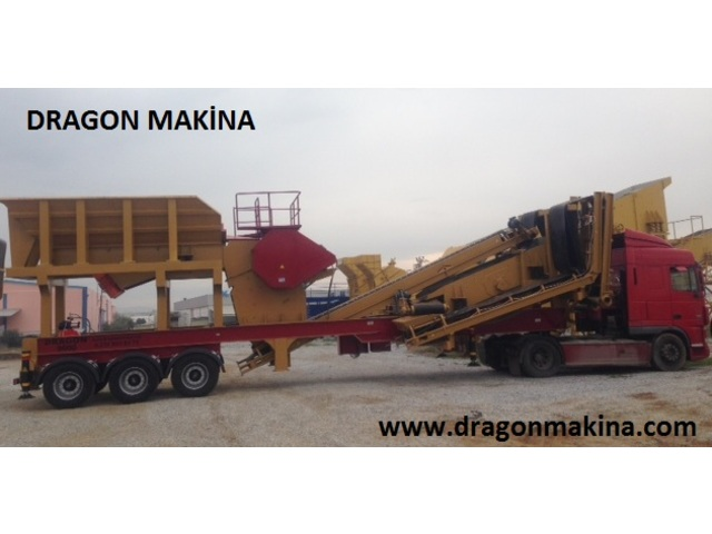 Usine Mobile De Concassage Primaire Dragon 6000 - 968