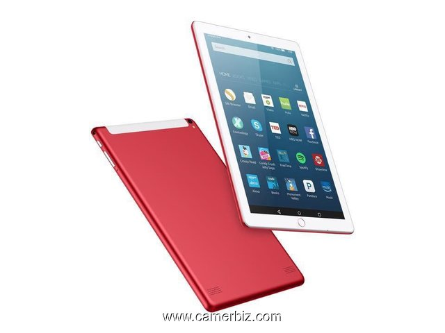 "Tablette Discover Note4 Plus Dual SIM - 10.1 "", 4 Go RAM - 64 Go ROM, Wi-Fi.  2 puces. + Powerbank - 9791"