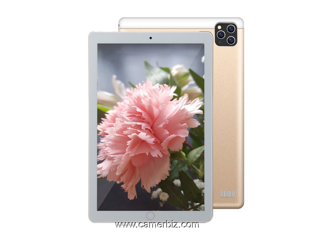 "Tablette Discover Note8 Plus Dual SIM- 10.1 "", 4 Go RAM - 64 Go ROM, Wi-Fi. + Powerbank + ecouteurs - 9890"